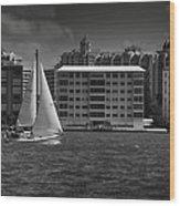 Sailing Away  Wood Print by Mario Celzner