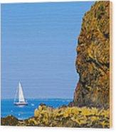 Sailing - Portrait Wood Print