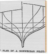 Sailing Ships: Pilot Boat Wood Print