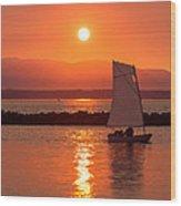 Sailors Solitude 2 Wood Print