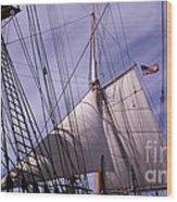 Sails Ready Wood Print