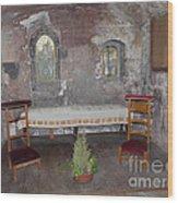 Saint Aignan Chapel Wood Print
