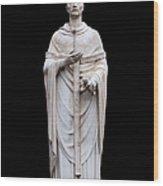 Saint Ambrose Wood Print