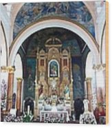 Saint Ana Church. Wood Print