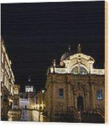 Saint Blaise Church - Dubrovnik Wood Print