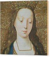 Saint Catherine Wood Print