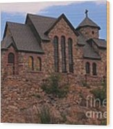 Saint Catherine Of Siena Chapel Wood Print