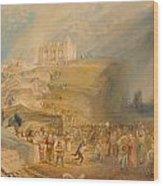 Saint Catherine's Hill Wood Print