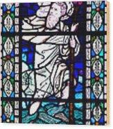 Saint Christopher Wood Print