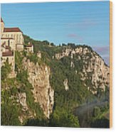 Saint Cirq Panoramic Wood Print