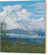 Saint Elias Mountains In Kluane National Park-yk  Wood Print