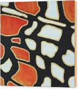 Saint Euphydryas Phaeton Study  Wood Print