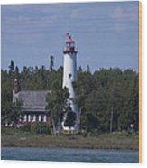 Saint Helena Lighthouse 2 Wood Print