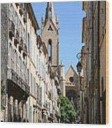Saint Jean De Malte - Aix En Provence Wood Print
