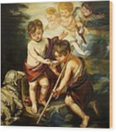 Saint John Baptist Wood Print