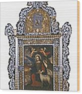 Saint John. Colonial Baroque. Oil Wood Print