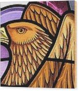 Saint John Eagle  Wood Print