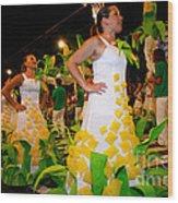 Saint John Festival Wood Print