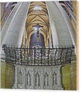 Saint John The Divine Rear Altar View Wood Print