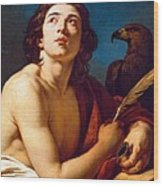 Saint John The Evangelist Wood Print