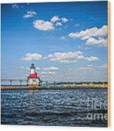 Saint Joseph Lighthouse And Pier Picture Wood Print