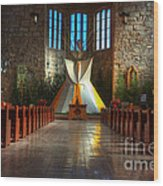 Saint Josephs Apache Mission Wood Print