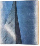 Saint Louis Arch Photo Art 01 Wood Print
