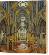 Saint Malachy The Actors Chapel  Wood Print