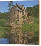 Saint Malo Reflection Wood Print