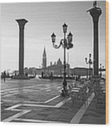 Saint Mark Square, Venice, Italy Wood Print