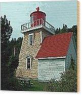 Saint Martin's Lighthouse 2 Wood Print