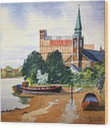 Saint Mary's Church Battersea London Wood Print