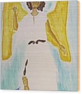 Saint Michael The Archangel Miracle Painting Wood Print