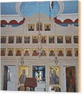 Saint Nicholas Erikousa 1822 Wood Print