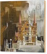 Saint Patrick's Cathedral Church Wood Print