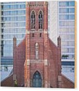 Saint Patrick's Church San Francisco Wood Print
