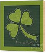 Saint Patricks Day Collage Number 11 Wood Print