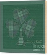 Saint Patricks Day Collage Number 12 Wood Print