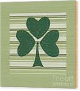 Saint Patricks Day Collage Number 15 Wood Print