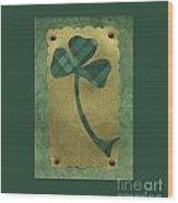 Saint Patricks Day Collage Number 21 Wood Print