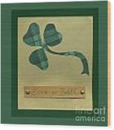 Saint Patricks Day Collage Number 3 Wood Print
