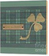 Saint Patricks Day Collage Number 4 Wood Print