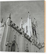 Saint Paul Cathedral In Cathedral Wood Print