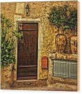 Saint Paul De Vence France Dsc02357 Wood Print