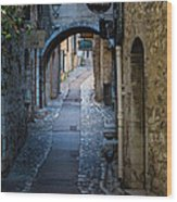 Saint Paul Rue Grande Wood Print