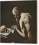 Saint Paul The Hermit Wood Print