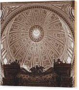 Saint Peter Dome Wood Print