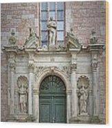Saint Peters Doorway Wood Print