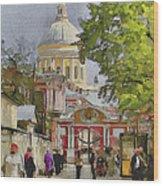 Saint Petersburg Saint Alexander Cathedral Wood Print