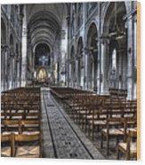 Saint Severin Wood Print